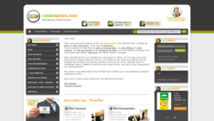 front office du site ruedespiles.com