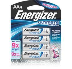 pile AA lithium energizer